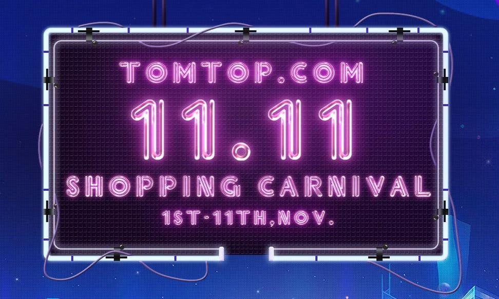 Promoção de 11/11 da Tomtop